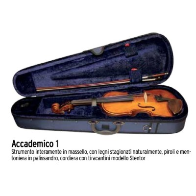Accademico Violino Stentor 3/4 con Custodia