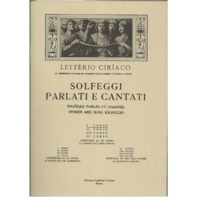 Letterio Ciriaco - Solfeggi Parlati e Cantati Corso 1