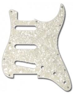 Stealton PGST10WP Battipenna tipo Stratocaster - White Pearloid