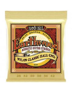 Ernie Ball 2069 - Earthwood Nylon Classic Ball-End