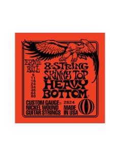 Ernie Ball 2624 - 8-String Skinny Top Heavy Bottom 09-80