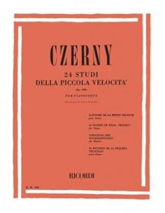 Czerny Carl - 24 Studi Della Piccola Velocità Op. 636 (Ed. Ricordi)