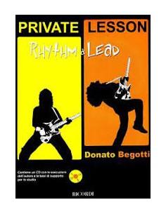 Donato Begotti - Private Lesson Rhythm & Lead + CD