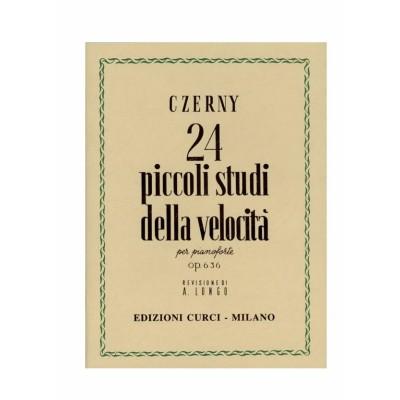 Czerny Carl - 24 Piccoli Studi Della Velocità Op. 636 (Ed. Curci)