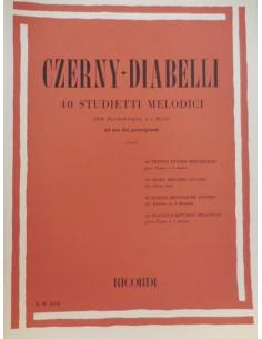 Czerny Carl - 40 studi melodici per principianti