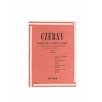 Czerny Carl - Esercizi giornalieri op 337 40 studi