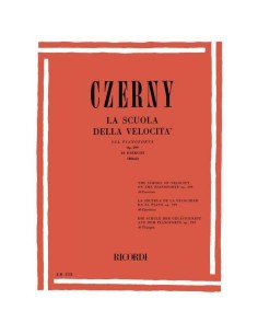 Czerny Carl - Scuola di velocità op.299