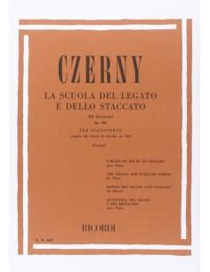 Czerny Carl - Scuola Legato/staccato op.335