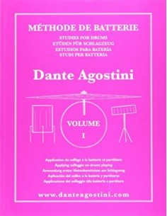 Dante Agostini Metodo per batteria Vol.1