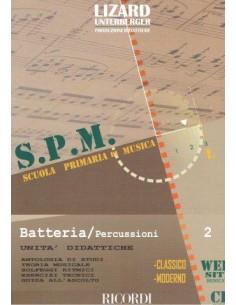 Lizard SPM Batteria e percussioni Vol. 2 + CD