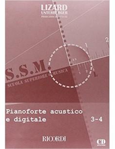 Lizard SSM - Pianoforte Acustico e Digitale 3-4