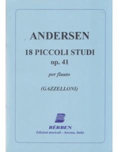 Andersen - 18 Piccoli Studi Op.41