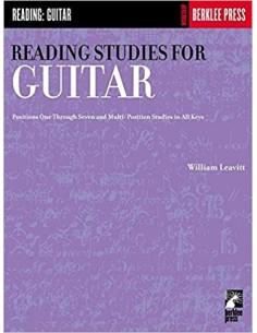 Leavitt - Advanced Reading Studies For Guitar