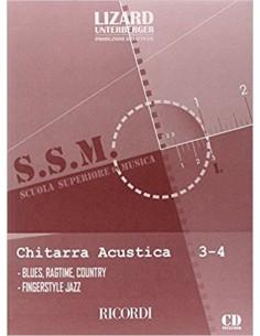 Lizard SSM - Chitarra Acustica Folk 3-4 (Blues Ragtime Country Fingerstyle Jazz)