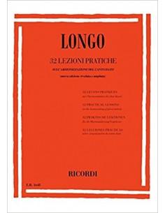 Longo - 32 Lezioni pratiche di canto