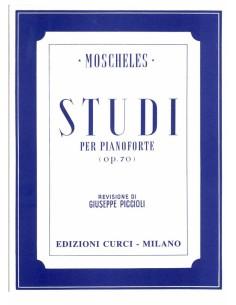 Moscheles Ignaz - 24 Studi per pianoforte Op.70
