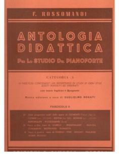 Rossomandi - Antologia Didattica Cat.A Fasc II