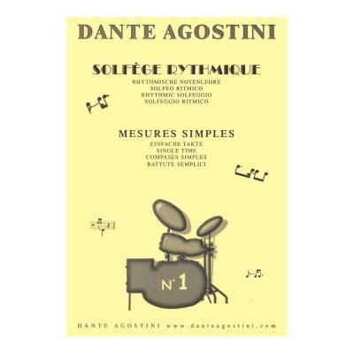 Dante Agostini - Solfeggio Ritmico 1