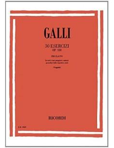Galli Raffaele - 30 Esercizi per flauto Op.100