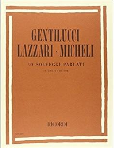 Gentilucci Lazzari - 30 solfeggi parlati in sol