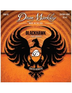 Dean Markley BlackHawk 10-47 Coated Acustica
