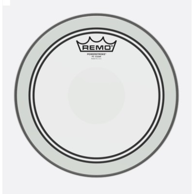Remo P3-0310-C2 Powerstroke P3 Clear Top Clear Dot 10