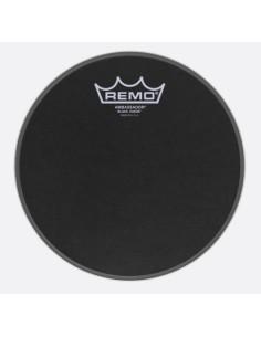 Remo BA-0808-ES Black Suede Ambassador 8
