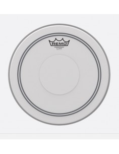 Remo P3-0112-C2 Powerstroke P3 Coated Top Clear Dot 12