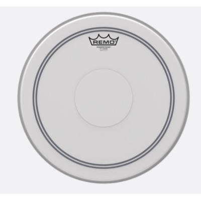 Remo P3-0113-C2 Powerstroke P3 Coated Top Clear Dot 13
