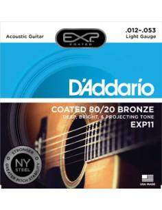 D'Addario EXP11 80/20 Bronze Coated 12-53