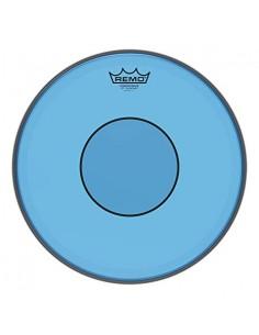 Remo P7-0314-CT-BU Powerstroke77 Pelle per Rullante da 14 Blue