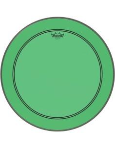 Remo P3-1318-CT-GN Powerstroke 3 Pelle per Grancassa da 18 Verde