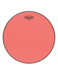 Remo BE-0310-CT-RD Emperor Colortone Pelle da 10 Red