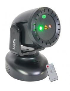Ibiza Twirly-LZR Testa Mobile Laser