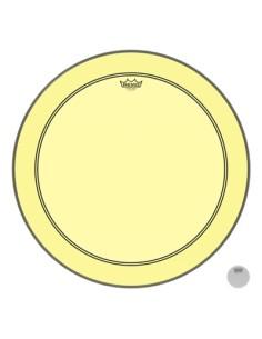 Remo P3-1318-CT-YE Colortone Powerstroke 3 Pelle per Grancassa da 18 Gialla