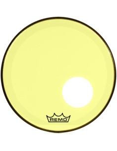 Remo P3-1318-CT-YEOH Powerstroke 3 Colortone Yellow Risonante da 18