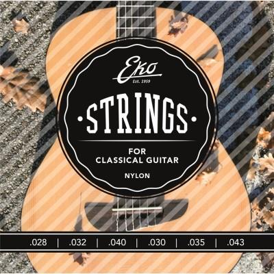 EKO Corde Chitarra Classica 28-43 Medium
