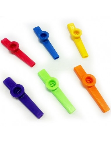 Kazoo in plastica colori assortiti