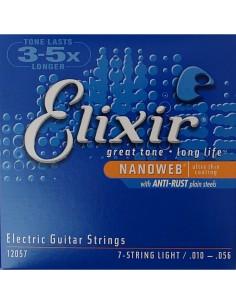 Elixir Nanoweb 12057 010-056 7 Corde