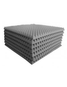 Piramidale poliuretanico 100 x 100 x 5 cm densità 35kg/mc