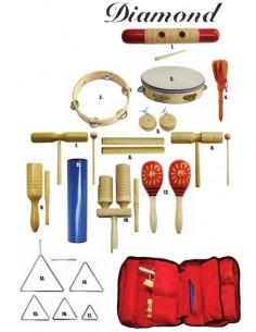 Diamond set didattico percussioni