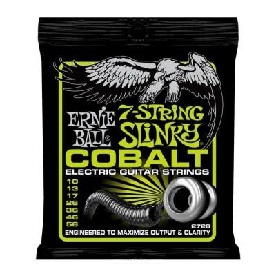 Ernie Ball 2728 - Cobalt Regular Slinky 7 corde 10-56