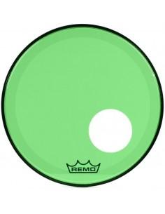 Remo P3-1318-CT-GNOH Powerstroke 3 Colortone Verde Risonante da 18