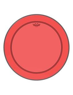 Remo P3-1318-CT-RD Colortone Powerstroke 3 Pelle per Grancassa da 18 Red