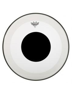 Remo P3-1320-10 Powerstroke 3 Black Dot Clear pelle battente trasparente per cassa da 20
