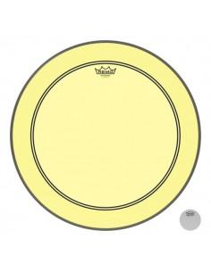 Remo P3-1322-CT-YE Powerstroke 3 Pelle per Grancassa da 22 Yellow