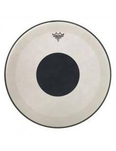 Remo P3-1324-10 Powerstroke 3 Black Dot Clear pelle battente trasparente per cassa da 24