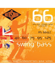 Rotosound RS-665LC Swing Bass 66 muta per basso 40-125