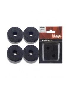 Stagg SPRF1-4 Feltrini per Piatti (4pz)