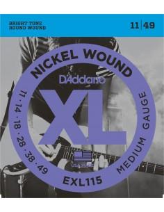 D'Addario EXL115 011-49 Muta per chitarra